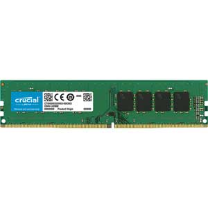 【エントリーでP5倍 8/20 9:59迄】CT8G4DFS824A Crucial PC4-19200 (DDR4-2400)288pin DDR4 UDIMM 8GB