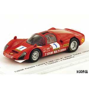 【エントリーでP5倍 8/20 9:59迄】1/43 TUDOR Porsche Carrera 6(906-120) #1 Winner SUZUKA1000km 1969 T.Tsutsumi/J.Yoneyama(限定品)【SKB43025】 キッドボックス×スパーク