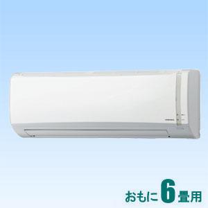 CSH-N2218R-W コロナ 【標準工事セットエアコン】(10000円分工事費込) おもに6畳用 (冷房:6〜9畳/暖房:6〜7畳) Nシリーズ (ホワイト)