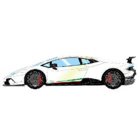 1/18 Lamborghini Huracan Performante 2017 パールホワイト【EML008B】 メイクアップ