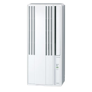 CW-F1618-WS コロナ 窓用エアコン(冷房専用・おもに4〜6畳用 シェルホワイト) CORONA [CWF1618WS]【返品種別A】