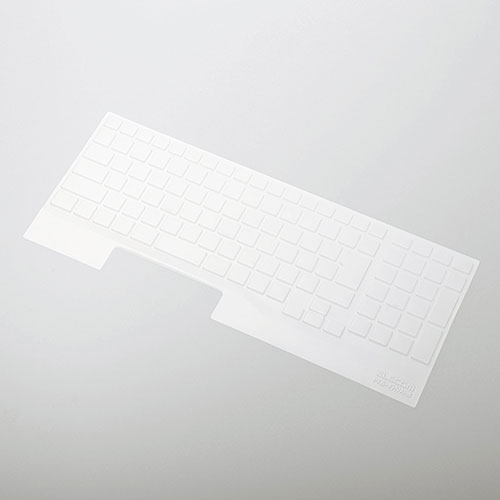 PKB-FMVAH8 エレコム 富士通 LIFE BOOK AHシリーズ用 キーボード防塵カバー 15.6インチ