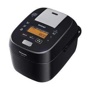 SR-SPA108-K パナソニック スチーム&可変圧力IHジャー炊飯器(5.5合炊き) ブラック Panasonic Wおどり炊き