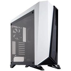 CC-9011119-WW コルセア ATX、microATX、Mini-ITX 対応PCケース(ブラック&ホワイト) CORSAIR Carbide SPEC-OMEGA Tempered Glassシリーズ
