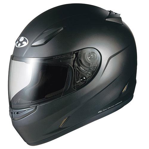 FFR3 FBK L OGKカブト フルフェイスヘルメット(フラットブラック L(59-60cm未満)) FF-RIII