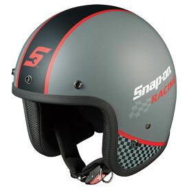 FOLK SNAP ON RACING1 OGKカブト ストリートジェットヘルメット(RACING-1 57〜59cm) FOLK Snap-on