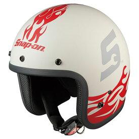 FOLK SNAP ON FLAME3 OGKカブト ストリートジェットヘルメット(FLAME-3 57〜59cm) FOLK Snap-on