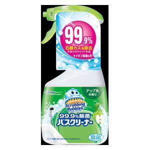 スクラビングバブル 99.9%除菌バスクリーナー アップルの香り 本体 400ml ジョンソン SB99.9%ジヨキンバスアツプル