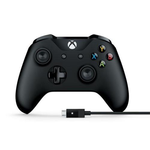 4N6-00003 マイクロソフト Xbox one/Windows用 Bluetooth対応 コントローラー(PC用 USBケーブル付き) Microsoft Xbox Controller + Cable for Windows