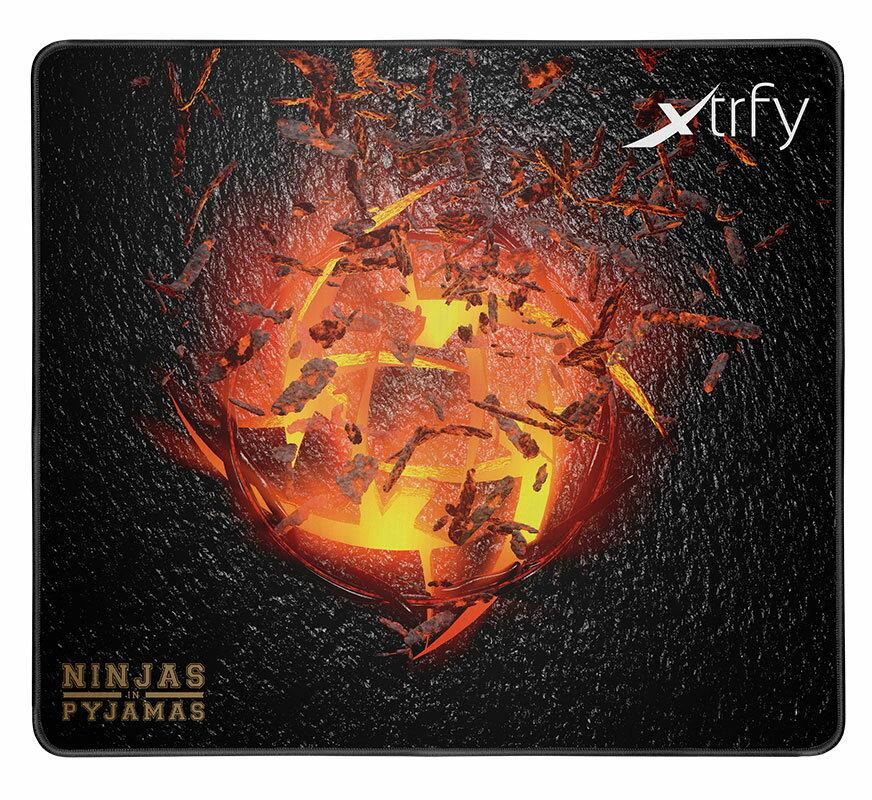 701042 Xtrfy ゲーミングマウスパッド XTP1 NIP VOLCANO【国内正規品】 エクストリファイ Large-sized gaming mousepad. Ninjas in Pyjamas Volcano edition.