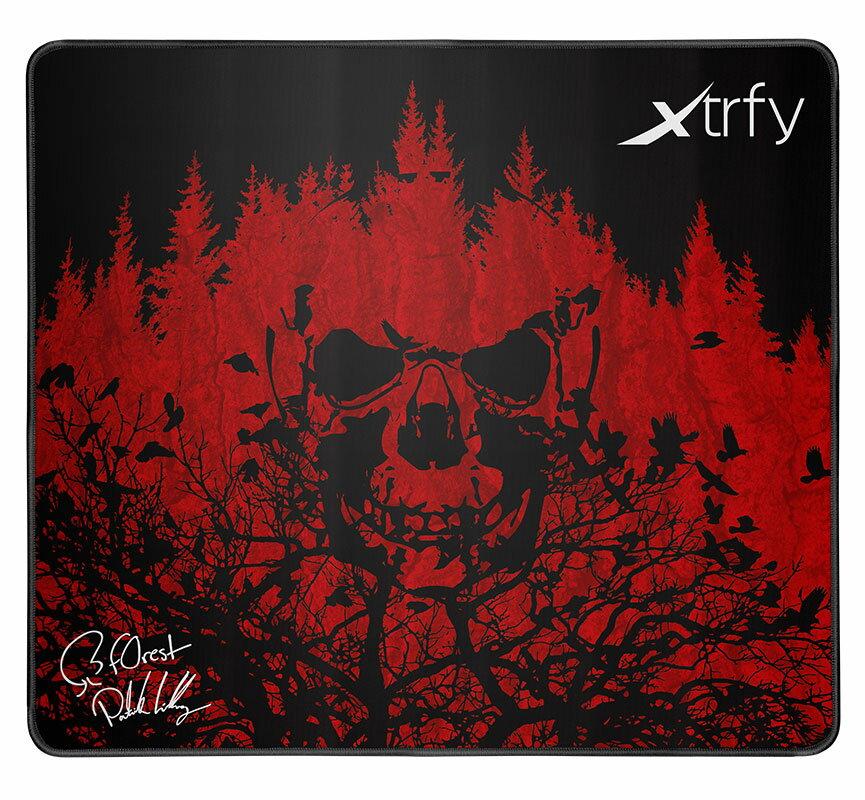 "701030 Xtrfy ゲーミングマウスパッド XTP1 F0REST【国内正規品】 エクストリファイ Large-sized gaming mousepad. Patrik ""f0rest"" Lindberg edition."