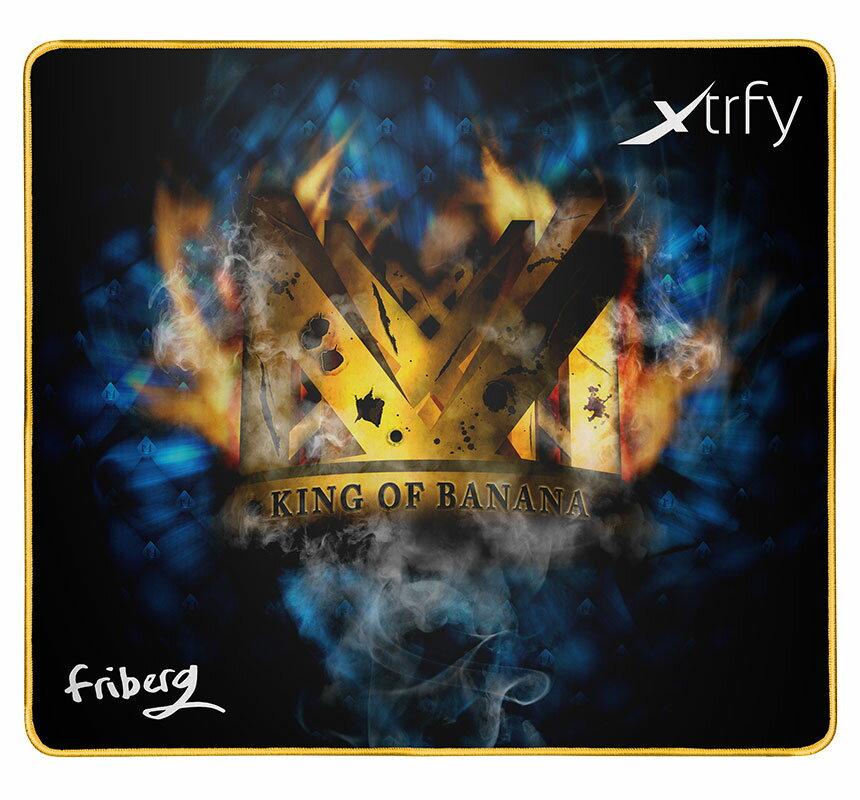 "701026 Xtrfy ゲーミングマウスパッド XTP1 FRIBERG【国内正規品】 エクストリファイ Large-sized gaming mousepad. Adam ""friberg"" Friberg edition."