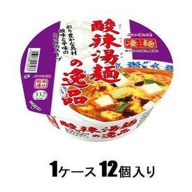 ニュータッチ 凄麺 酸辣湯麺の逸品 111g(1ケース12個入) ヤマダイ サンラ-タンメンノイツピン111X12