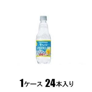 南アルプス スパークリングレモン 500ml(1ケース24本入) サントリー ミナミアルプスSPレモン500*24