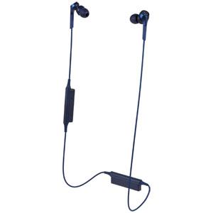 ATH-CKS550XBT BL オーディオテクニカ Bluetooth対応 ダイナミック密閉型カナルイヤホン(ブルー) audio-technica SOLID BASS