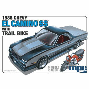 1/25 1986 シェビー エルカミーノSS(ダートバイク付き)【MPC888】 MPC