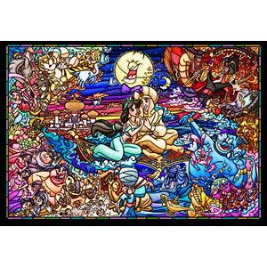 ディズニー アラジン ストーリー ステンドグラス 1000ピース【DP-1000-029】 ジグソーパズル テンヨー