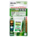 TEL-B0010H(05-0010) オーム コードレス電話機用充電池 3.6V OHM
