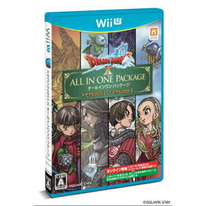 【Wii U】ドラゴンクエストX オールインワンパッケージ(ver.1 + ver.2 + ver.3 + ver.4) スクウェア・エニックス [WUP-P-WDQJ WiiUDQXALL]