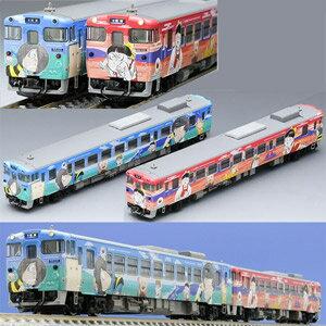 [鉄道模型]トミックス TOMIX (Nゲージ) 98054 JR キハ40-2000形ディーゼルカー(鬼太郎列車・ねこ娘列車)セット (2両) [トミックス 98054 JRキハ40 ディーゼルカー キタロウ ネコムスメ 2R]【返品種別B】