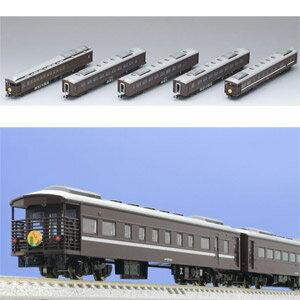 [鉄道模型]トミックス TOMIX (Nゲージ) 98279 JR 35-4000系客車(SLやまぐち号)セット (5両) [トミックス 98279 JR 35-4000 SLヤマグチ キャクシャ 5R]【返品種別B】