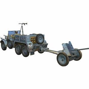 1/35 独・クルップ・プロッツェKfz.69後期型+3.7cmPak36対戦車砲【CB35138】 ブロンコ [CB35138 ドイツ クルップ プロッツェ Kfz69コウキガタ]【返品種別B】
