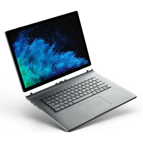 FVH-00010 マイクロソフト Surface Book 2(15インチ/Core i7/メモリ 16GB/SSD 1TB) [FVH00010B2157161T]【返品種別B】