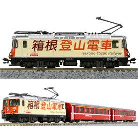 [鉄道模型]カトー (Nゲージ) 10-1514 Ge4/4-II「箱根登山電車」+EW I客車 3両セット【特別企画品】