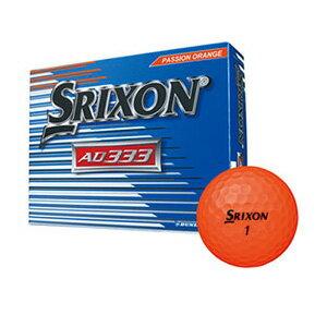 SN AD333 7 ORG 12P ダンロップ スリクソン スリクソン AD333-7 1ダース 12個入り(オレンジ) DUNLOP SRIXON