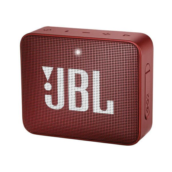 JBLGO2RED JBL 防水対応ポータブルBluetoothスピーカー(レッド) JBL GO 2