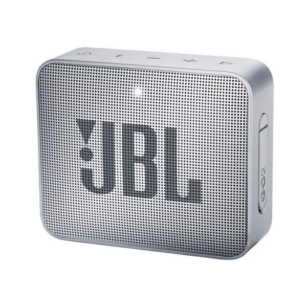 JBLGO2GRY JBL 防水対応ポータブルBluetoothスピーカー(グレー) JBL GO 2