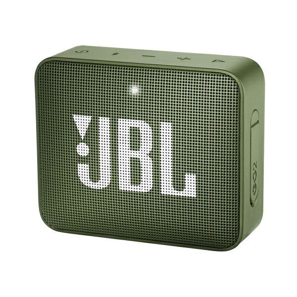 JBLGO2GRN JBL 防水対応ポータブルBluetoothスピーカー(グリーン) JBL GO 2