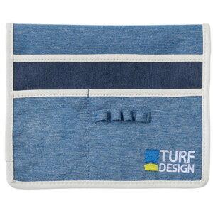 TDCP-1670 BLUE 朝日ゴルフ TURF DESIGN カートポケット(ブルー)
