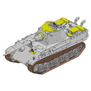 1/35 WW.II ドイツ軍 パンターF型 対空増加装甲タイプ w/赤外線暗視装置【DR6917】 ドラゴンモデル