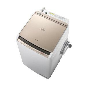 (標準設置料込)BW-DV90C-N 日立 9.0kg 洗濯乾燥機 シャンパン HITACHI ビートウォッシュ
