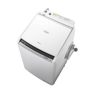 (標準設置料込)BW-DV80C-W 日立 8.0kg 洗濯乾燥機 ホワイト HITACHI ビートウォッシュ