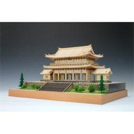 1/150 木製模型 知恩院 三門 木製組立キット ウッディジョー
