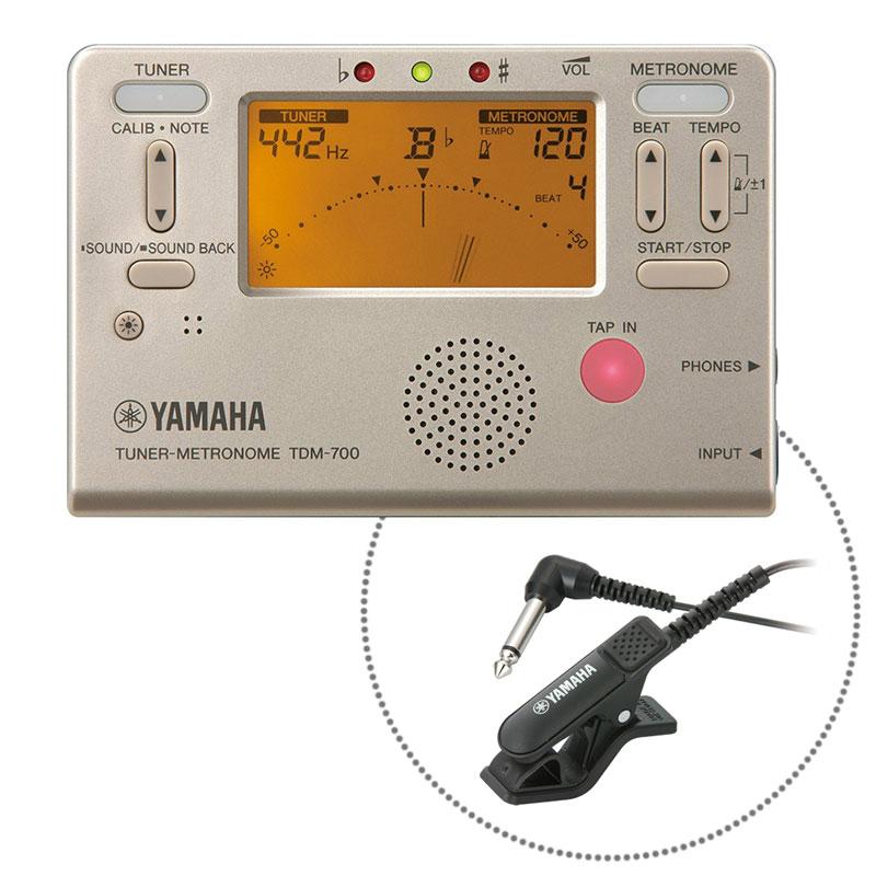 TDM-700GM ヤマハ チューナー/メトロノーム マイクロフォン付き YAMAHA