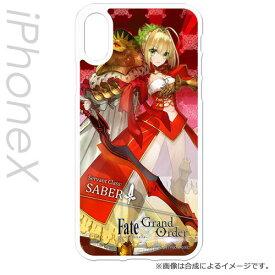 PCM-IPX2162 ハクバ iPhone XS/X用 ハードケース(Fate/Grand Order ネロ・クラウディウス) CHARAMODE(キャラモード)