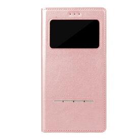 AFC10125 memumi iPhone XS/X用 超薄型マグネット開閉型 スマートレザー手帳型ケース(Rose Gold) Wisdom