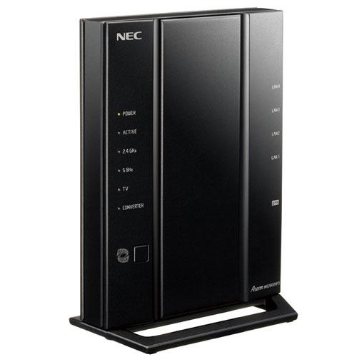 PA-WG2600HP3 NEC AtermWG2600HP3 無線LANルータ(親機) 1733Mbps(11ac)+800Mbps(11n) / 1000Mbps(有線LAN)