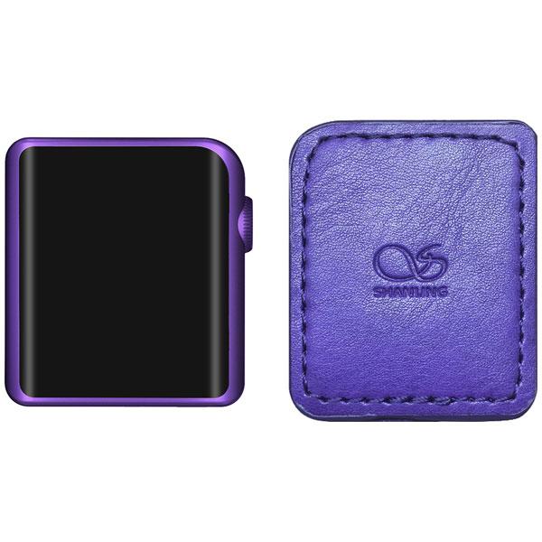 M0 PU set シャンリン ハイレゾ・ポータブルミュージックプレーヤー(パープル)512GB外部メモリ対応 専用ケース同梱版 SHANLING M0