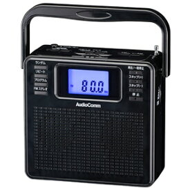 RCR-500Z-K オーム CDラジオ(ブラック) AudioComm OHM