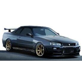 1/43 TOP SECRET GT-R (BNR34) Black【IG1479】 ignitionモデル