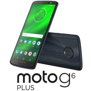 PAAT0026JP モトローラ Moto G6 Plus ディープインディゴ [PAAT0026JPG664IN]【返品種別B】
