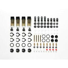 【再生産】TRFスペシャルダンパー ブラック(ハードブラックコート)4本【RC特別企画】【47342】 タミヤ
