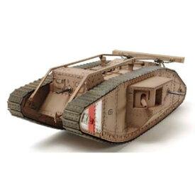 1/35 電動RC組立キット WWI イギリス戦車マークIV メール(専用プロポ付)【48214】 タミヤ