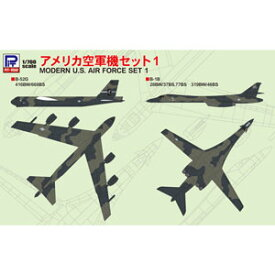 1/700 アメリカ空軍機セット1【S46】 ピットロード
