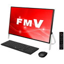 FMVF77C2B 富士通 23.8型 デスクトップパソコン FMV ESPRIMO FH77/C2 ブラック [Core i7/メモリ 8GB/HDD 1TB/Office …