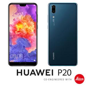 EML-L29-BL HUAWEI HUAWEI P20 ミッドナイトブルー 5.8インチ SIMフリースマートフォン[メモリ 4GB/ストレージ 128GB] [EMLL29BLP20]【返品種別B】
